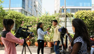 master of mass communication college in delhi